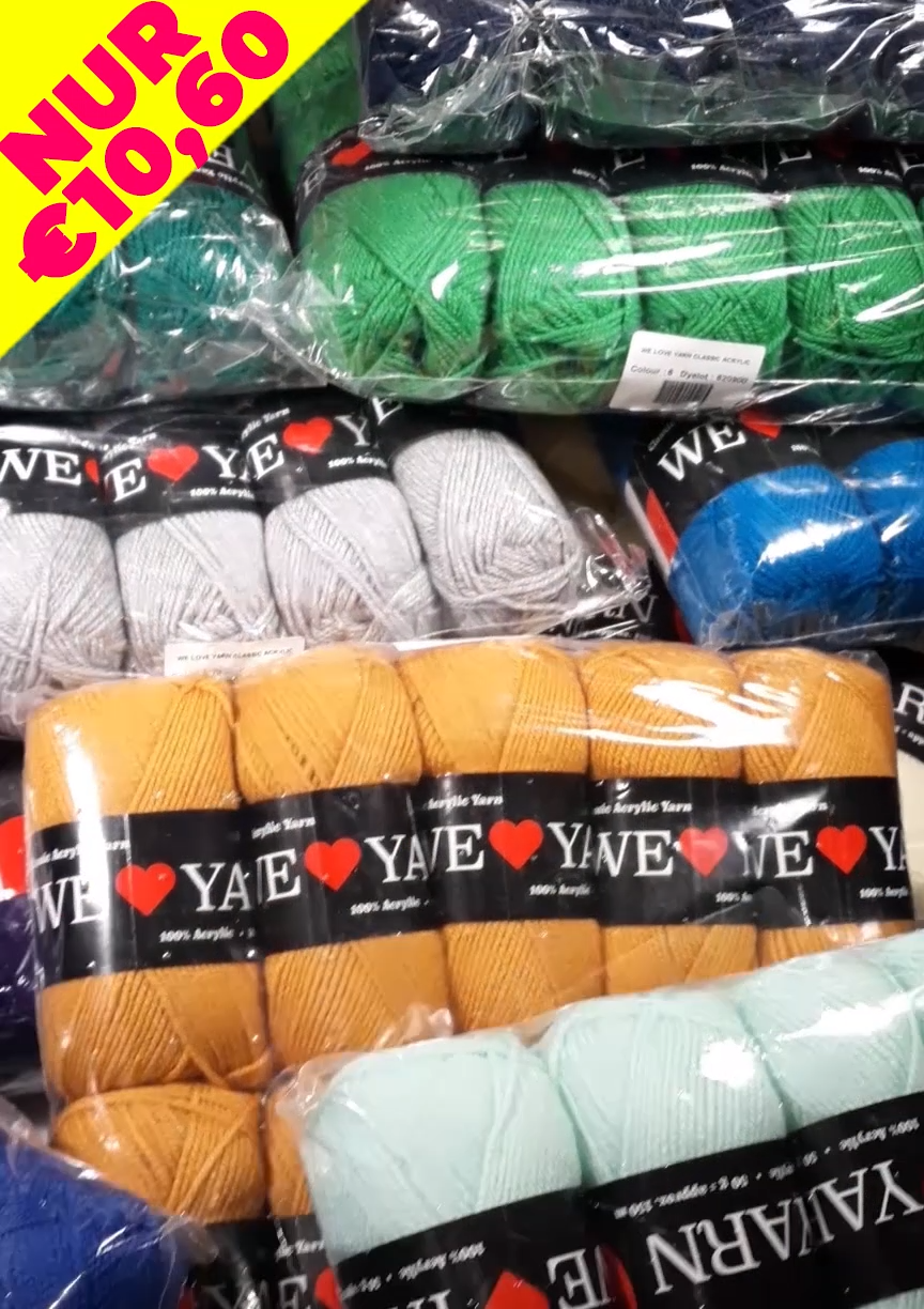 Photo of Yarn packages in 40 colors💛💚📦