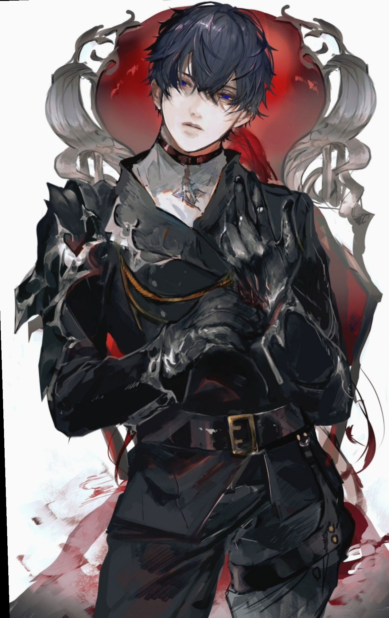 9 anime outfits male warriors handsome anime guys