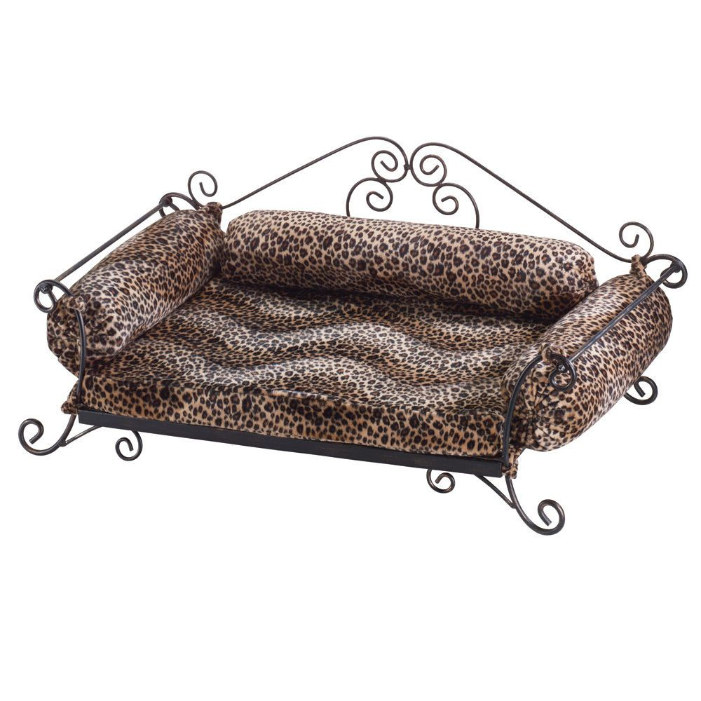 DOG BED CAT BED PET BED SAFARI PRINT ANIMAL BED NEW HOME BEDDING #HomeLocomotion