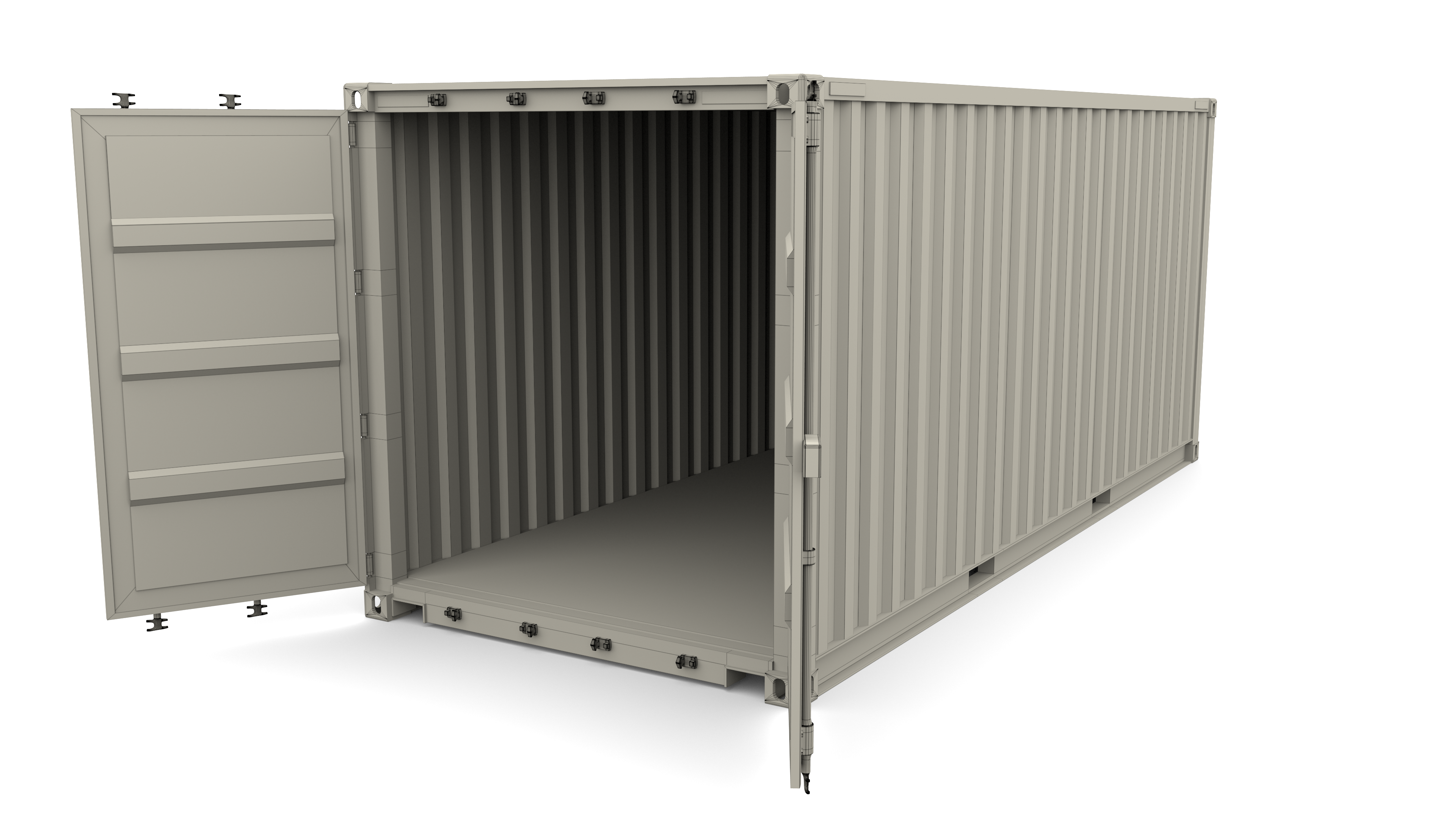 20ft Shipping Container Side Open 20ft Shipping Container Shipping Container Container