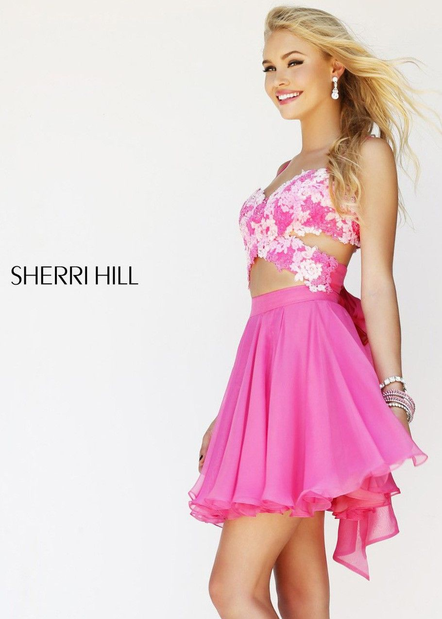 Sherri Hill 11065 Pink Party Dress,Sherri Hill Dress Outlet,Buy ...