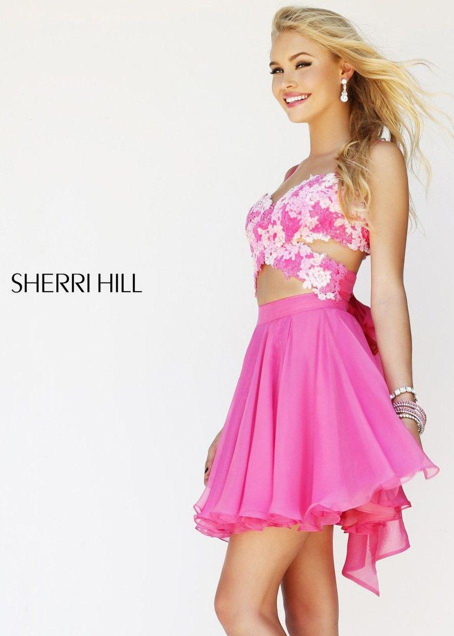Sherri Hill 11065 Pink Party Dress,Sherri Hill Dress Outlet,Buy ...