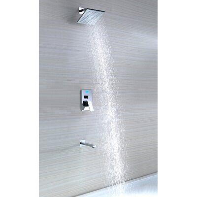 Sumerain International Group Single Handle Wall Mount Tub Shower