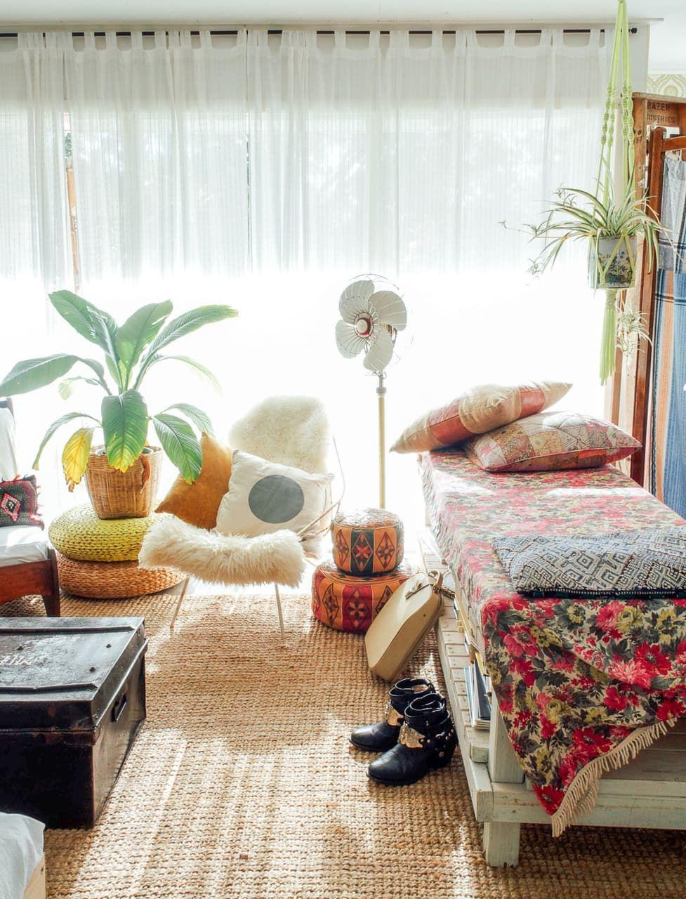 Eén van mijn favoriete interieur stijlen is de bohemian interieur ...