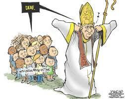 Image result for Catholic Sex Abuse CARTOON