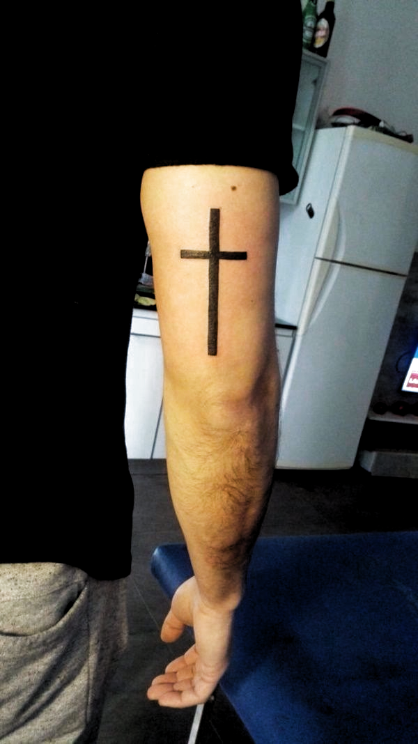 Tricep Cross Tattoo : tricep, cross, tattoo, Jermain, Murphy