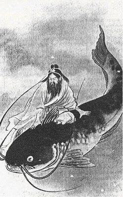 Japanese legend tells of a giant catfish named Namazu, on