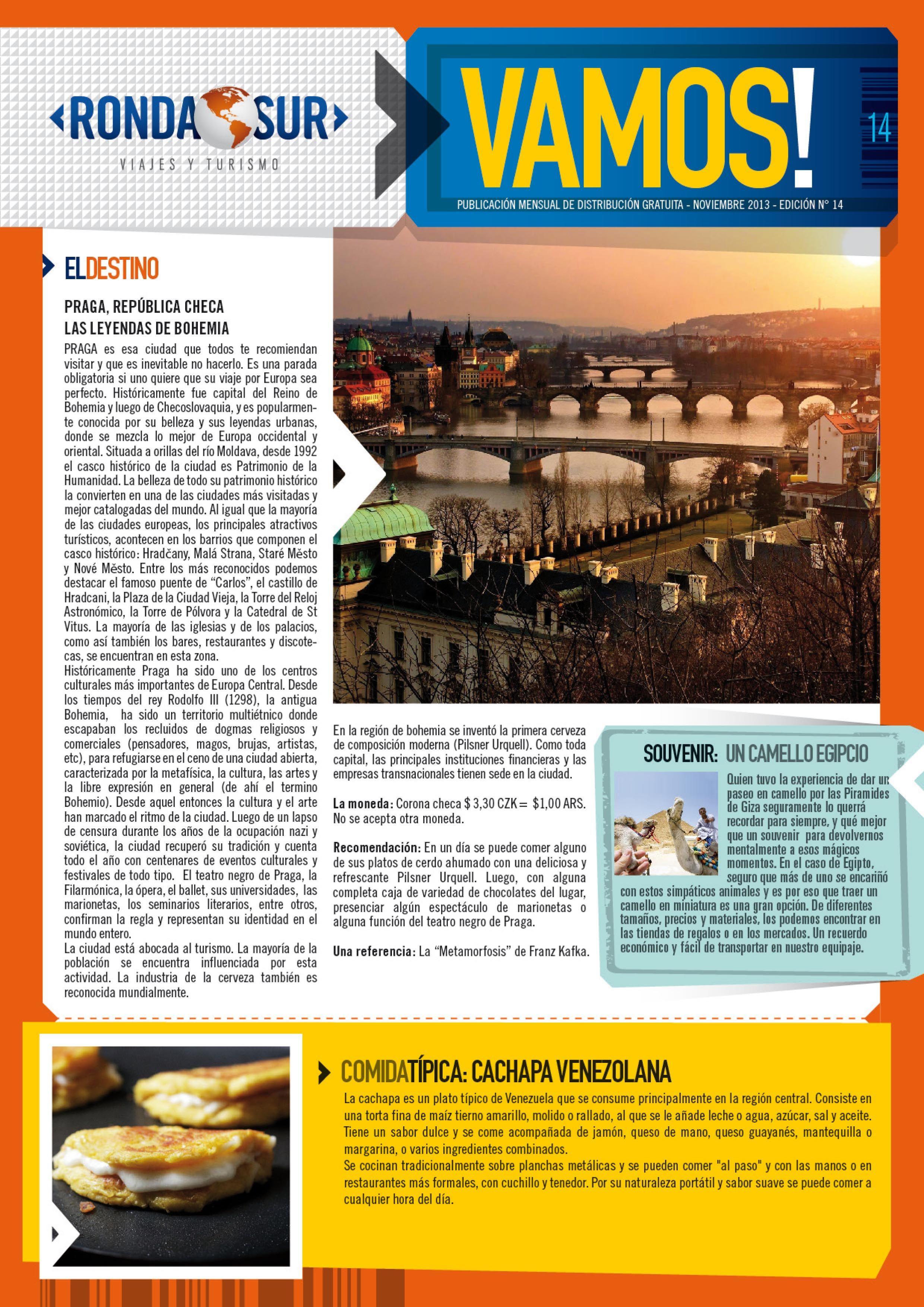 Revista Vamos Nº 14! Podés leerla haciendo Clik en este link: http://issuu.com/vamos_rondasur/docs/vamos_n14 #Turismo #Viajes #Destinos