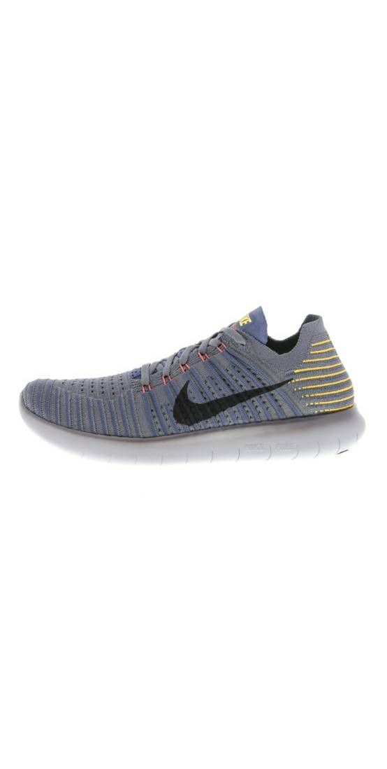 Nike Performance. FREE RUN FLYKNIT Trainers dark grey