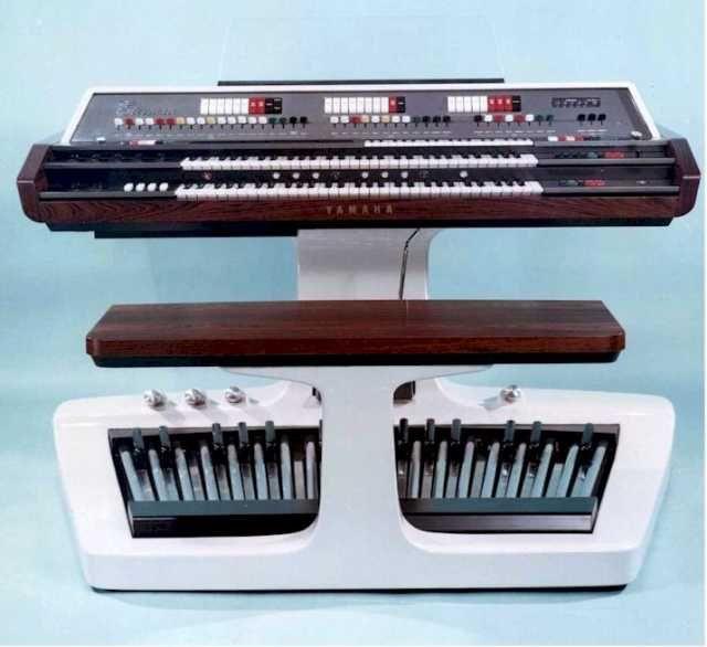 "Yamaha ""Electone"" EX-21 electronic organ | Keys ..."