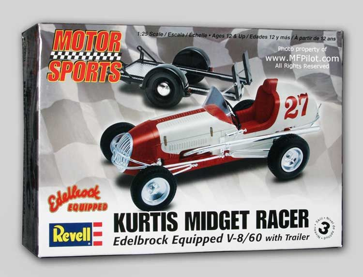 Quarter midget blue prints
