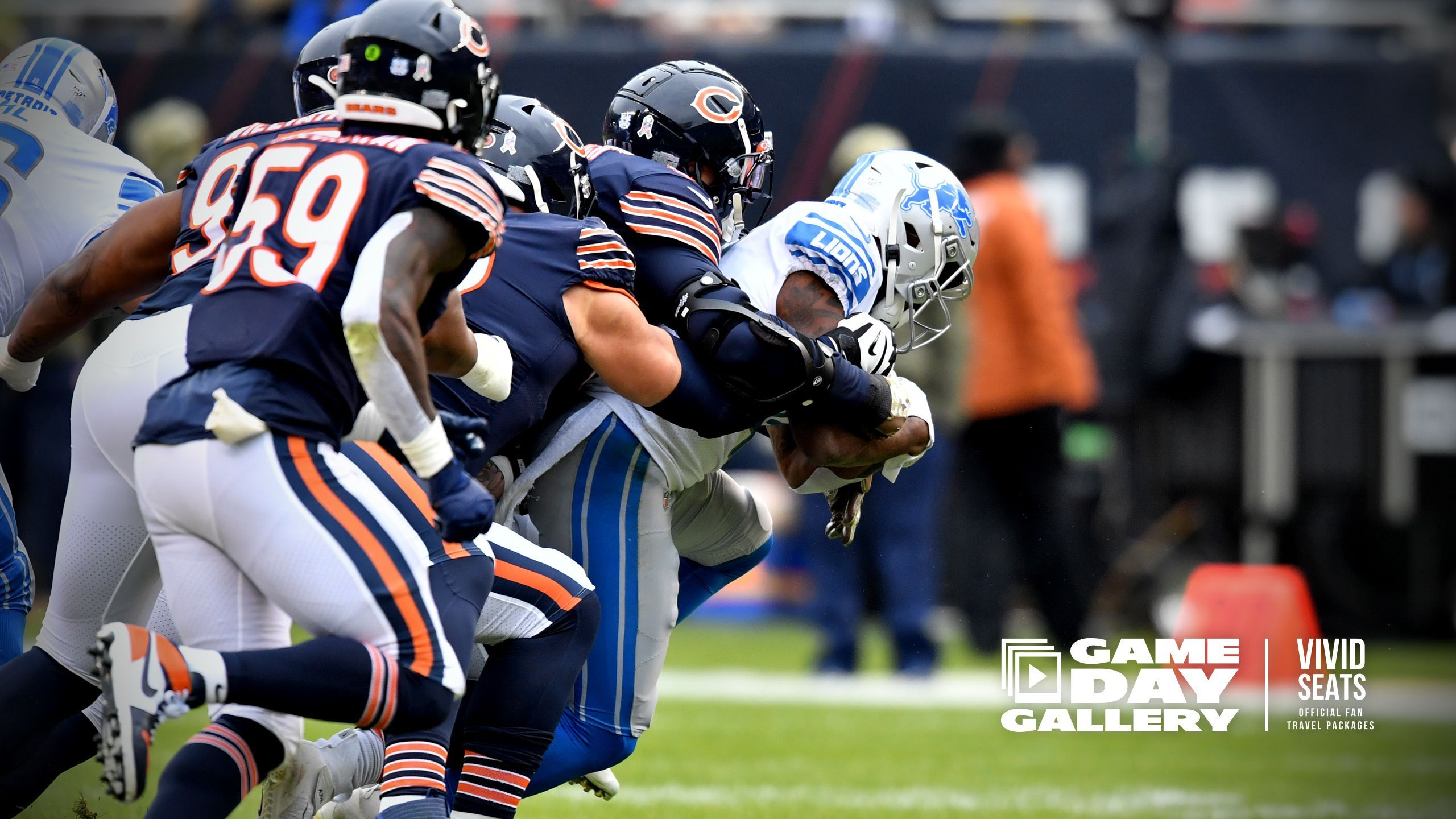 Gameday Gallery Lions At Bears With Images Chicago Sports Teams Gameday Chicago Bears Football