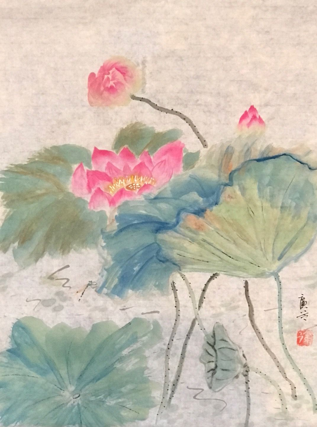 Pin by a chinese watercolor llc on lotus flower in pond with lotus lotus flower izmirmasajfo