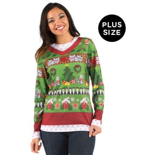 Grumpy Cat - Women\u0027s - No Ugly Christmas Sweater Lightweight Hoodie
