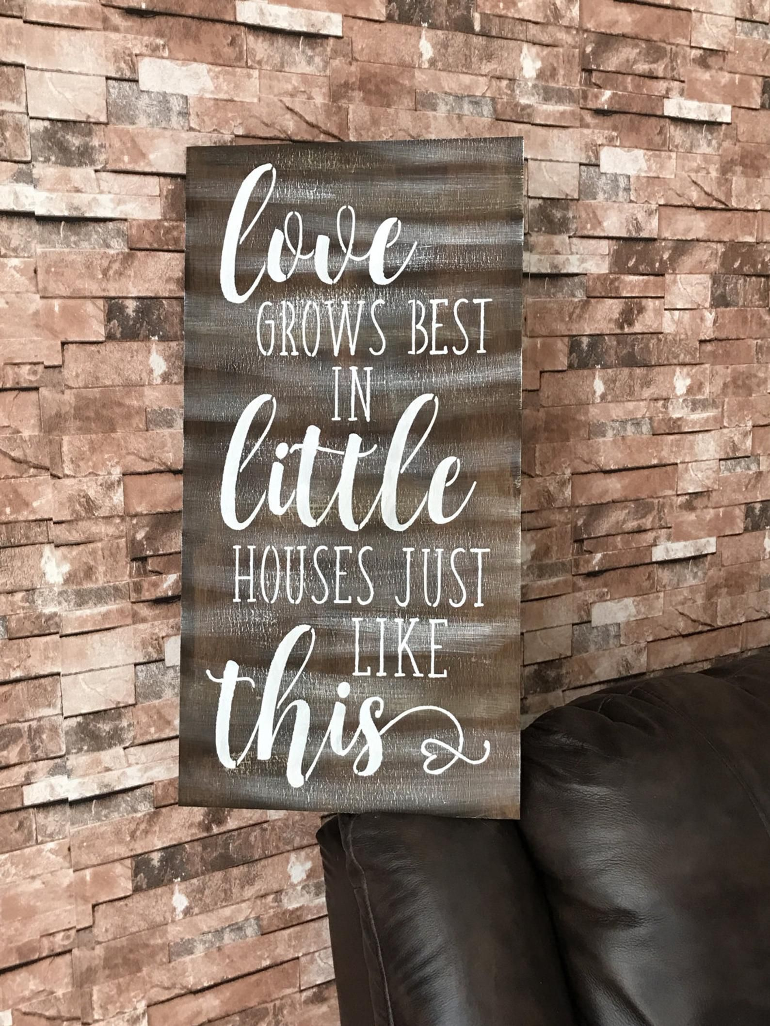 Download Love Grows Best In Little Houses Just Like This Rustic ...