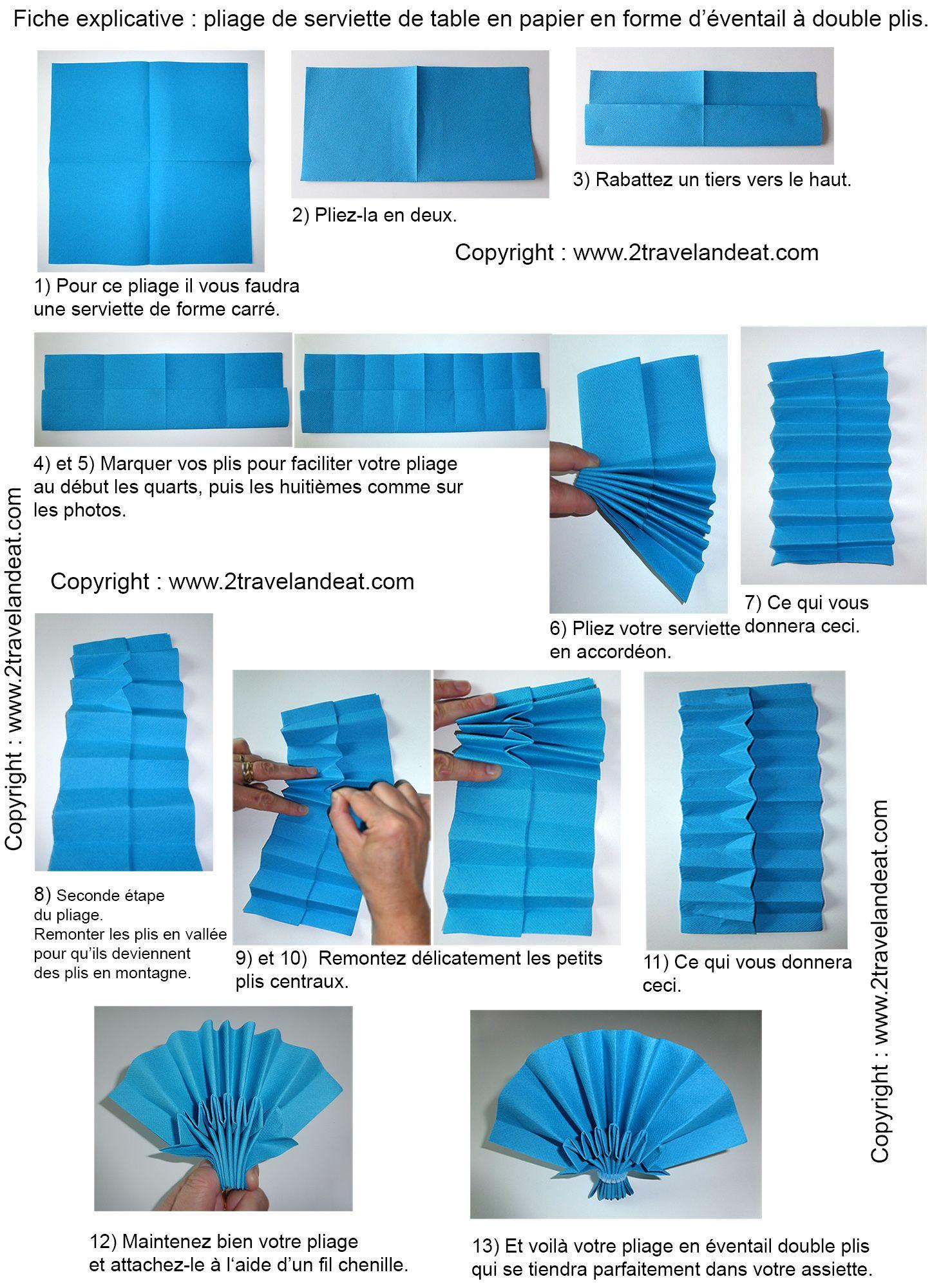 pingl par micheline abomey sur pliage napkin folding. Black Bedroom Furniture Sets. Home Design Ideas