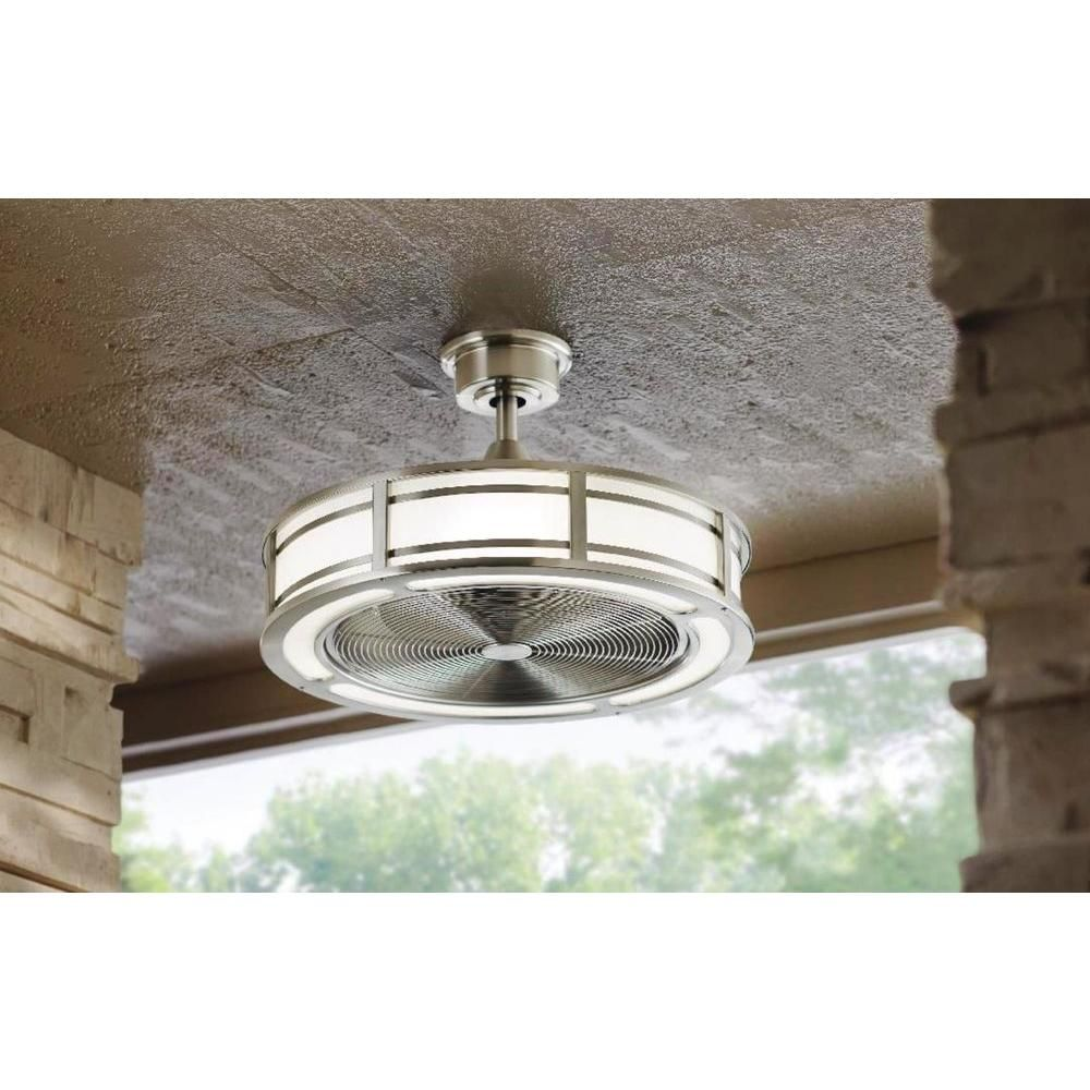 $229 Home Decorators Collection Brette 23 in. LED Indoor/Outdoor ...