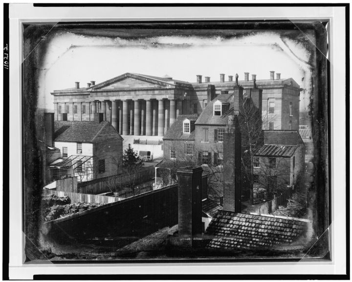 The First Known Photograph of the White House