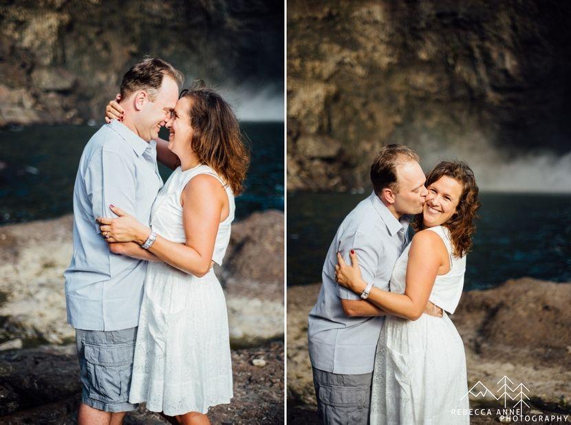 Snoqualmie Falls Engagement Shellie Paul Tacoma Seattle Wedding Photographer Rebecca Anne