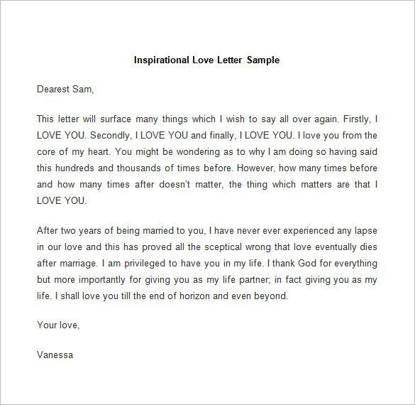 Sample Apology Love Letter 8 Documents In Pdf Word