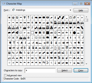 How To Find Font Characters On Yoru Computer  Character Map