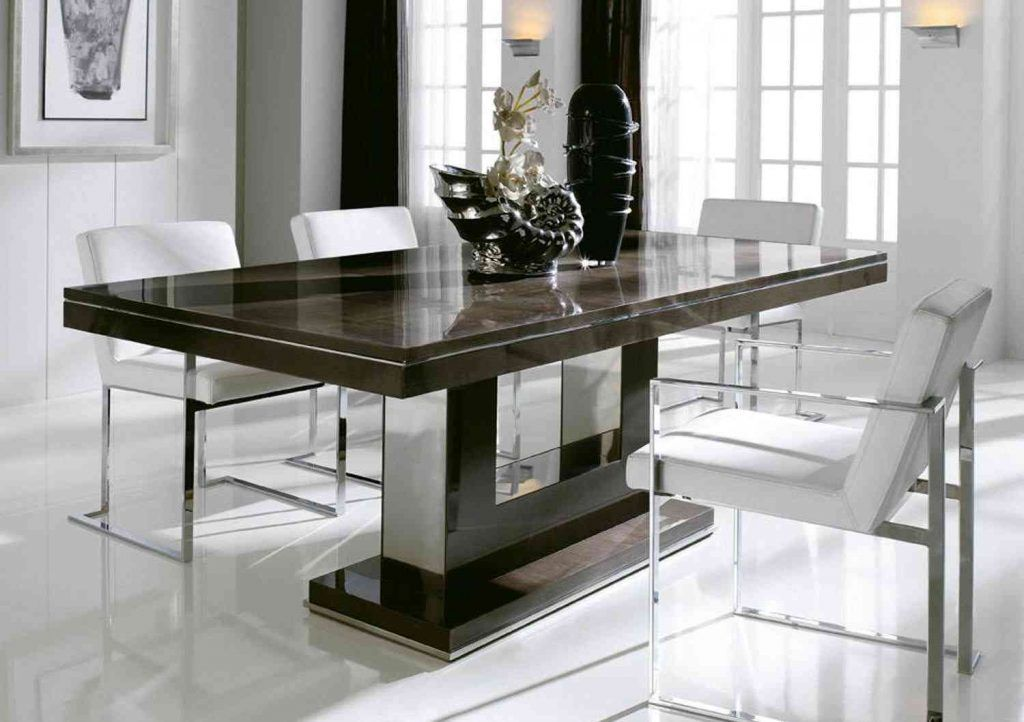 Contemporary Dining Table Sets For Modern Homes Meja Makan Meja