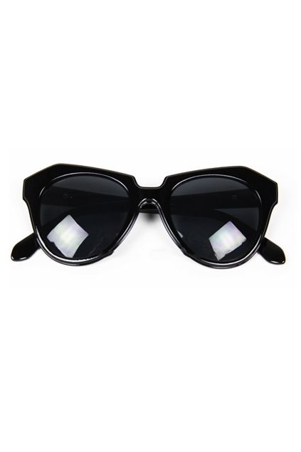 Angled Cat Eye Sunglasses - OASAP.com