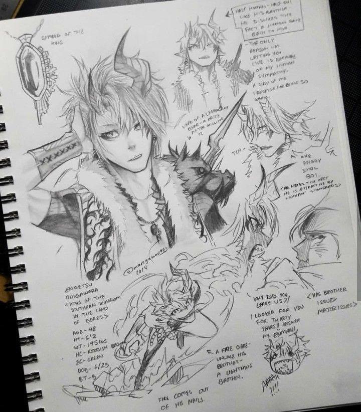 Creating A Male Character Artist Mangakaua983 Concept Art Characters Character Design Character Drawing