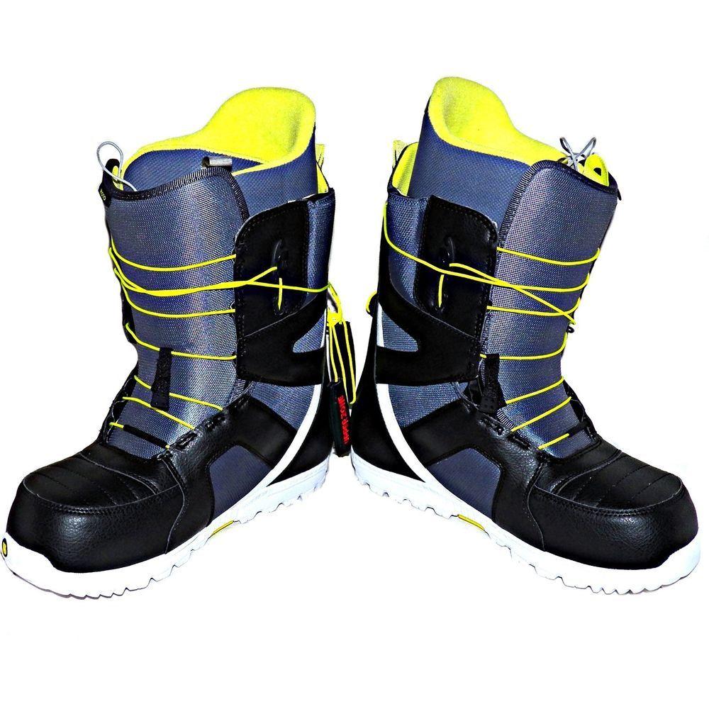 Burton Moto Snowboard Snow Sports Boots Speed Zone Lacing