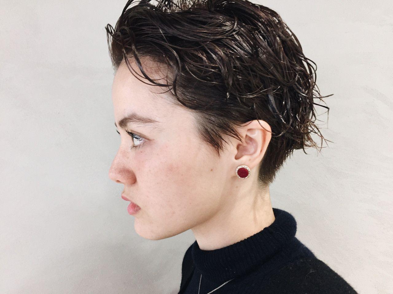 ショートヘアはワックス使いで変化 ショートヘア ワックスアレンジ