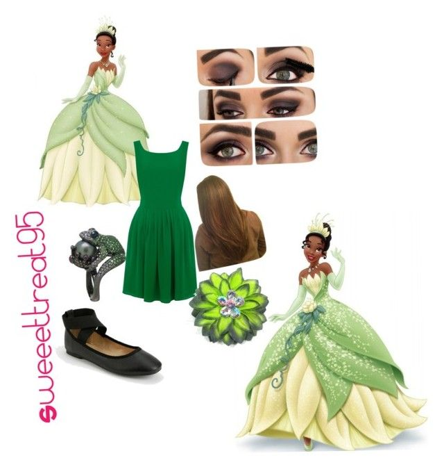 Tiana modern outfits. by sweeettreat95 on Polyvore featuring polyvore fashion style Oasis Kimchi Blue Disney modern clothing