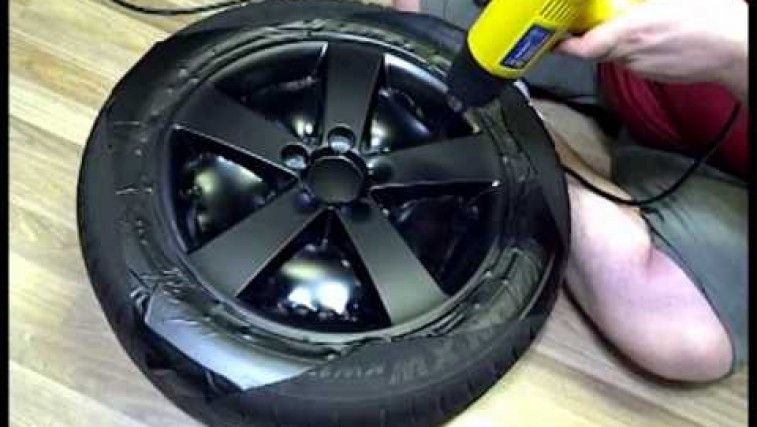 DIY – Wrapping Your Rims In Vinyl – NEVER PAINT YOUR RIMS AGAIN