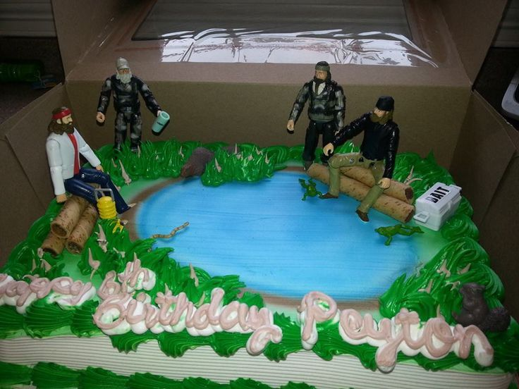 duck dynay stuff at walmart duck dynasty cake made with DC action
