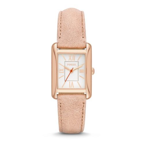 Fossil Women's Florence Three-Hand Leather Watch - Tan ES3518