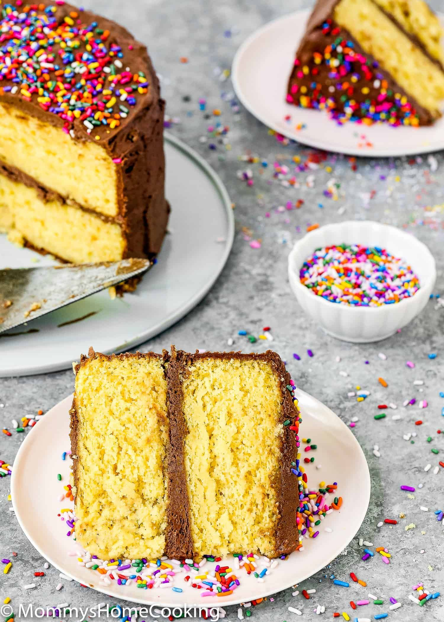 How to make a cake mix box without eggs recipe cake