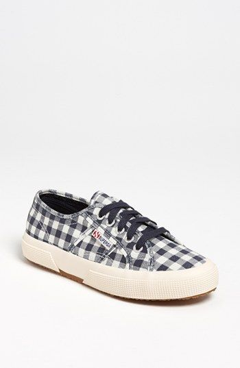 889ee6788a0 Superga Gingham Sneaker (Women) available at  Nordstrom