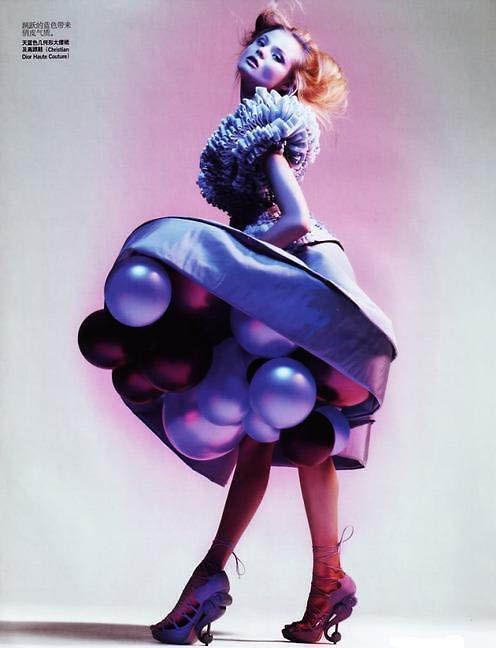 Vogue China - those shoes!!!
