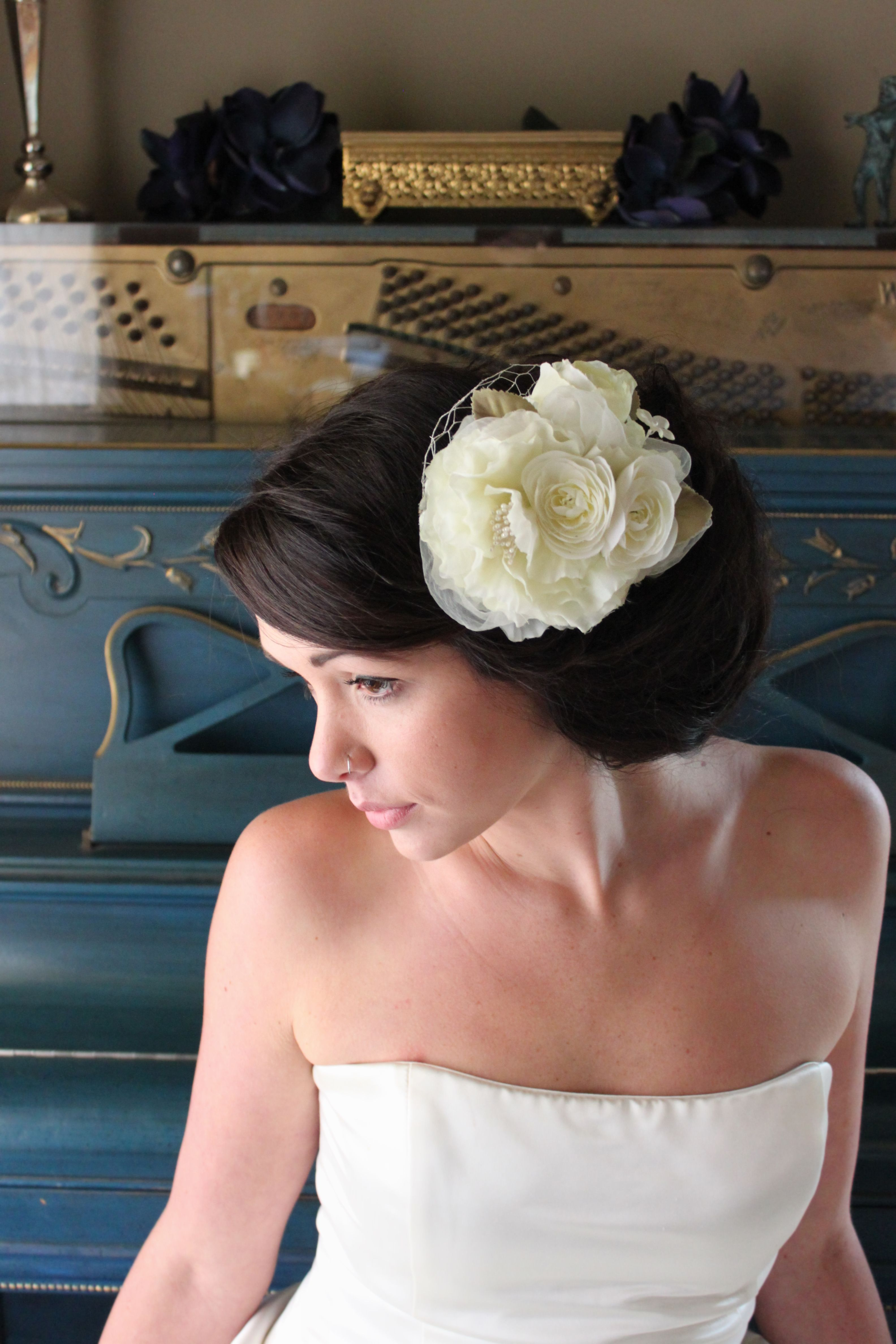 Bridal Collection 2012  http://www.etsy.com/listing/89754442/charmed-a-creamy-floral-bridal