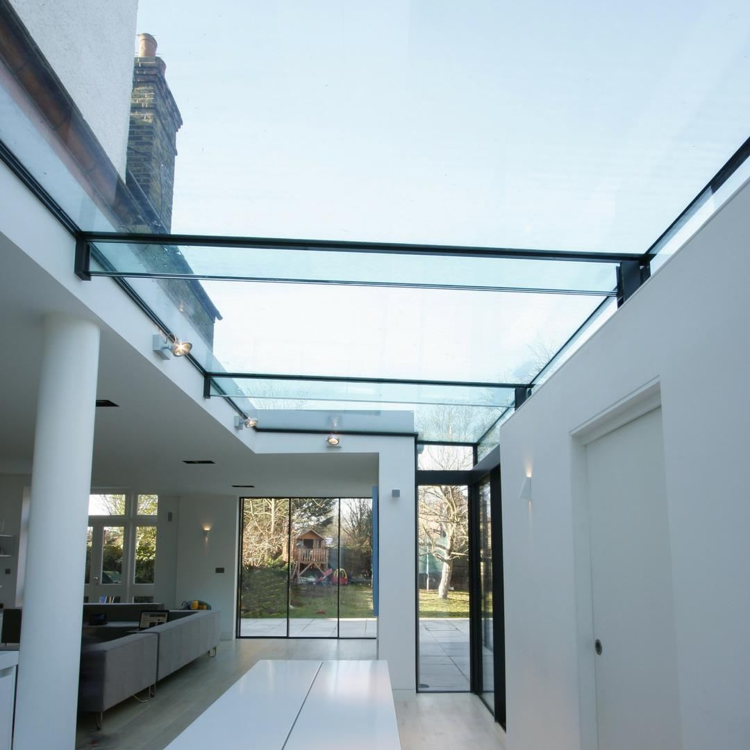 Iq Glass On Instagram Structural Glassroofs Allow An Abundance Of Natural Light To Flood Into The Internal Glass Roof Extension Glass Roof Roof Architecture