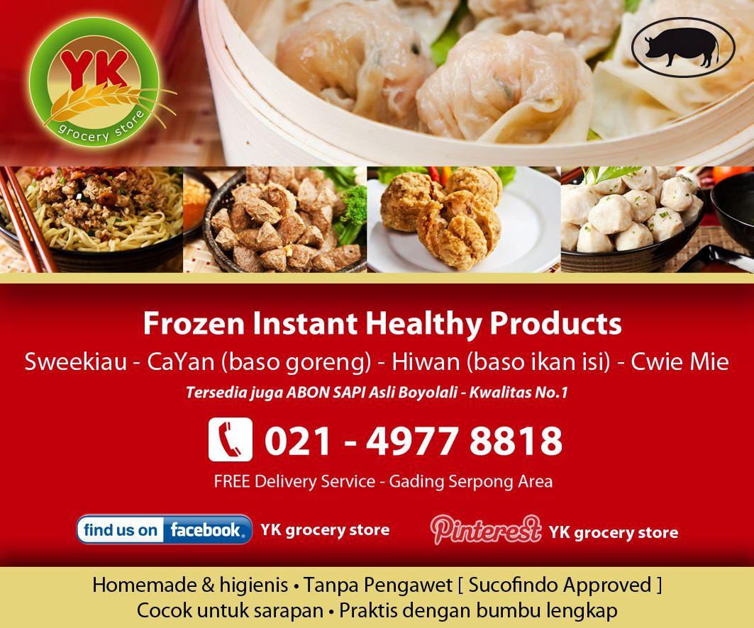 As Advertised Media Kawasan Serpong May 2013 Frozen Sarapan Sapi