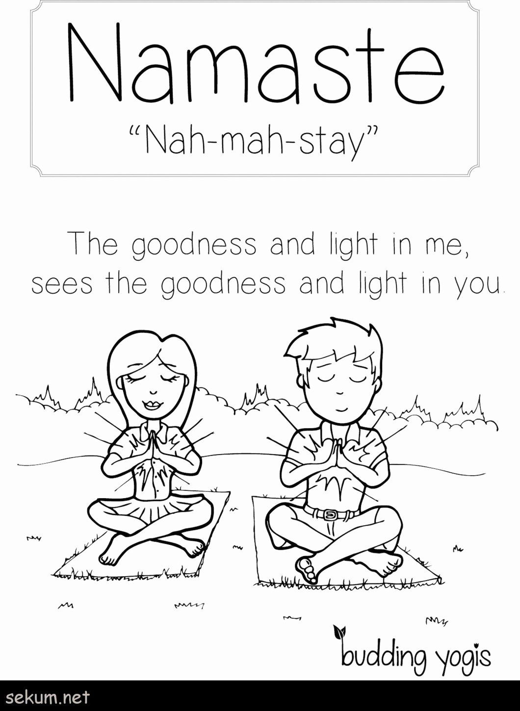 Yoga Coloring Pages To Print Gcssi Coloring Pages In 2020 Yoga Coloring Book Kids Yoga Poses Preschool Yoga