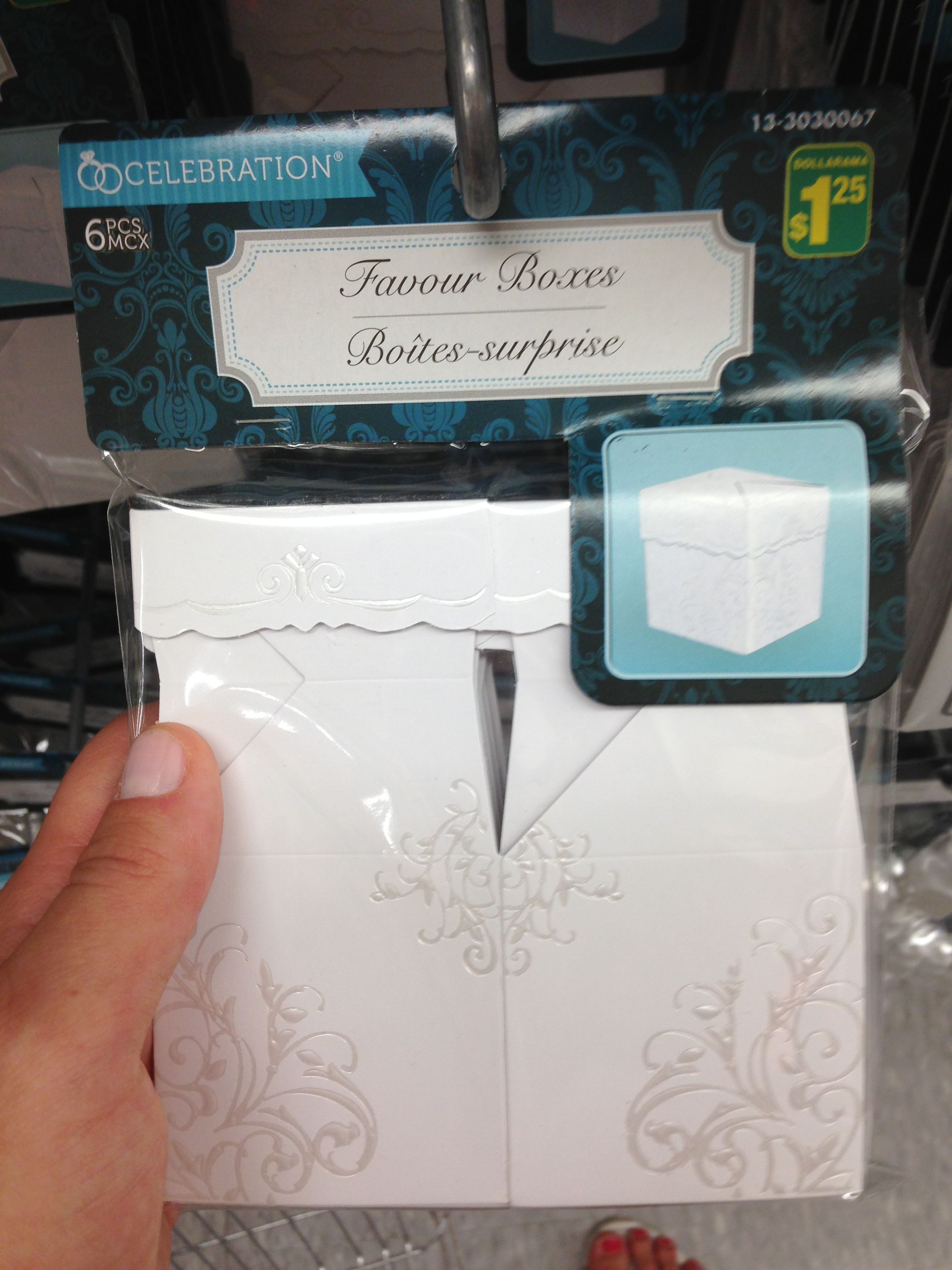 Wedding favour boxes, dollarama on spadina | Something Borrowed ...
