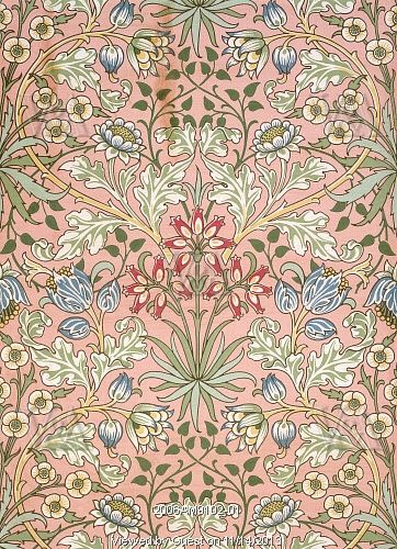 Hyacinth Wallpaper By William Morris England 19th Century
