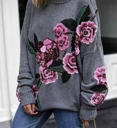 джемпера вс вышивкой подборка светри і вязаний одяг свитер