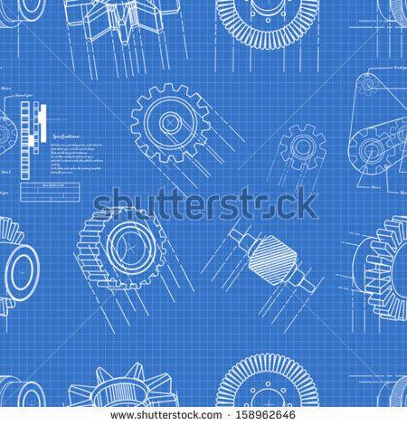 Blueprint gears seamless pattern stock vector website junk blueprint gears seamless pattern stock vector malvernweather Choice Image