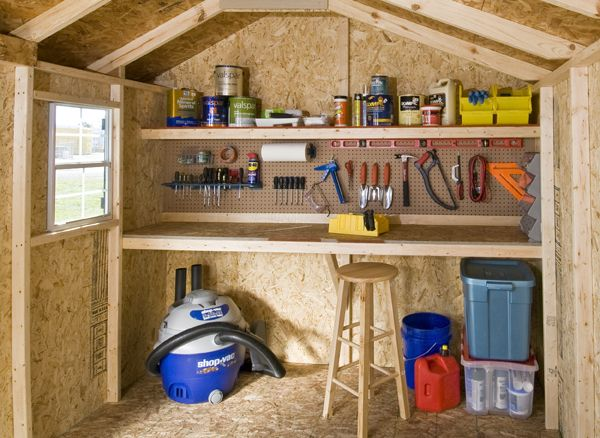 This Shows A Great Example Of The Potential Of A Workshop Shed