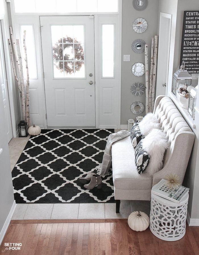 Elegant Fall Entryway Decor Ideas | Fall entryway, Interiors and ...