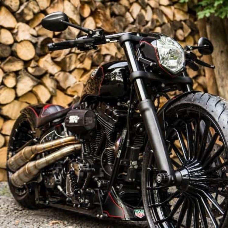 Harley Davidson Softail Custom Carrera H01 By Btchoppers