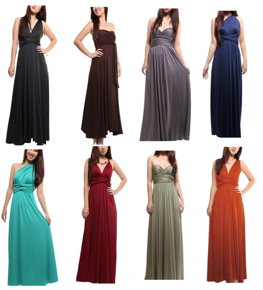 The One and Only CONVERTIBLE Infinite Infinity Dress for all ...