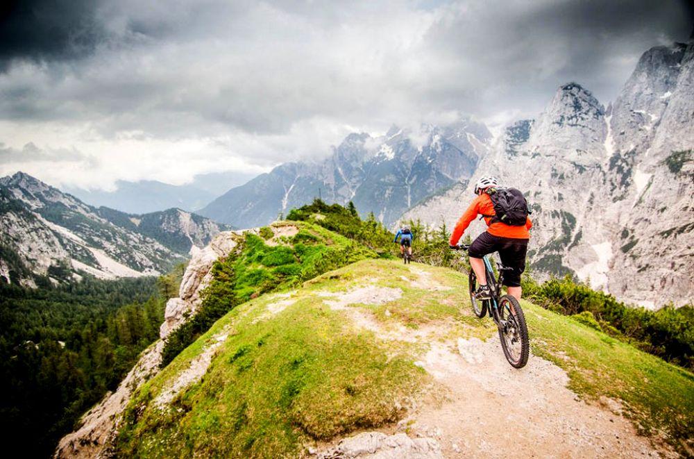 Slovenia's unique and diverse off-road trails make mountain